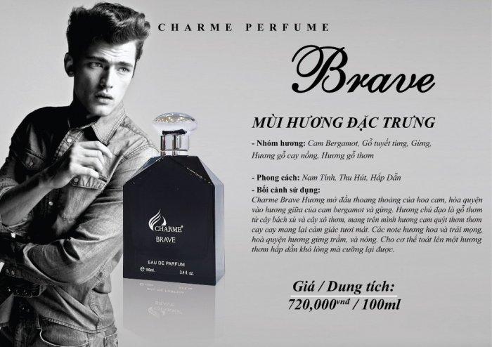 Nước hoa nam Charme Brave 100ml2