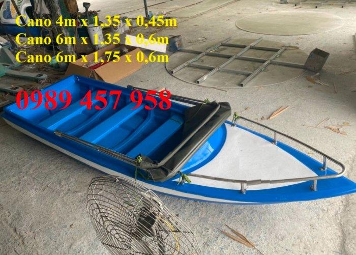 Cano 4m chở 8 người, Cano 6m chở 8-10 người, Cano chở 12 người3