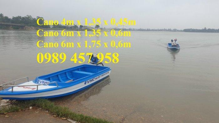 Cano 4m chở 8 người, Cano 6m chở 8-10 người, Cano chở 12 người1