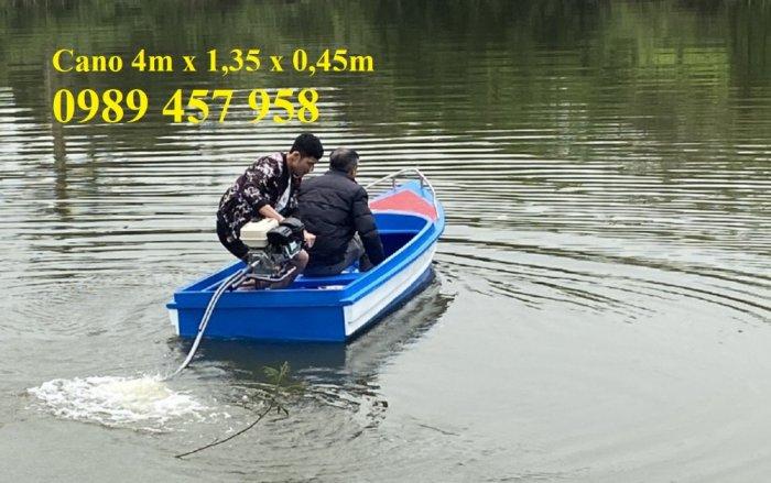 Cano 4m chở 8 người, Cano 6m chở 8-10 người, Cano chở 12 người0