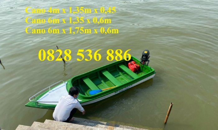 Thuyền chèo tay cho 2-4 người, Thuyền câu cá 4-6 người3