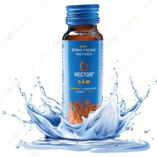 Nước đông trùng hạ thảo Hector sâm – tăng sức khoẻ, đề kháng, sinh lực0