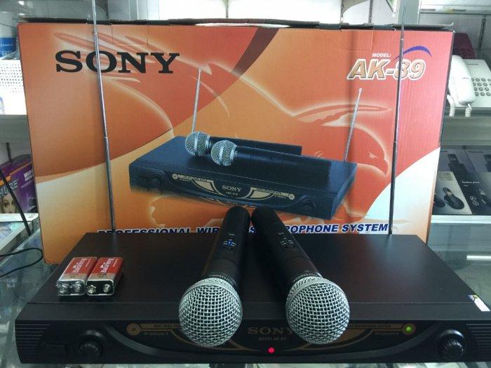 Micro không dây Sony AK-89 giá rẻ bất ngờ bán tại Điện Máy Hải Thủ Đức3
