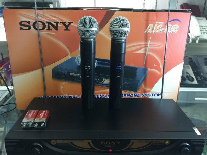Micro không dây Sony AK-89 giá rẻ bất ngờ bán tại Điện Máy Hải Thủ Đức1