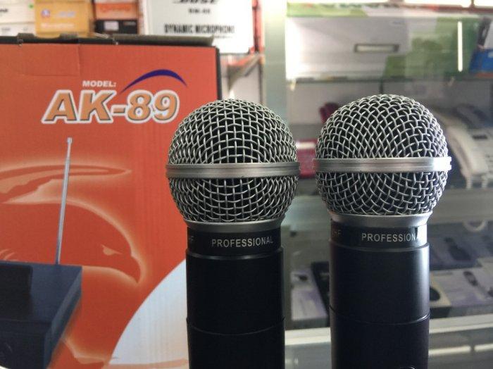 Micro không dây Sony AK-89 giá rẻ bất ngờ bán tại Điện Máy Hải Thủ Đức0