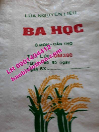 Bao đựng lúa, gạo in Flexo giá rẻ4