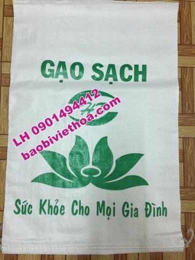 Bao đựng lúa, gạo in Flexo giá rẻ2