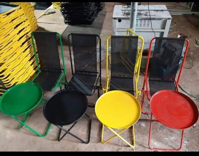 Ghế xếp sắt lưới nhiều màu3