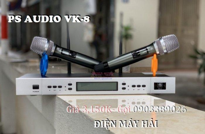 Micro không dây cao cấp PS Audio VK-8 mẫu mới đẹp, hát rất hay3