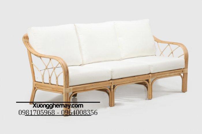 Băng ghế sofa mây, Ghế sofa mây dài, băng dài sofa mây16