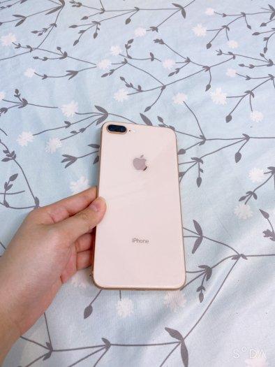Bán điện thoại iphone 8 plus màu vàng hồng1
