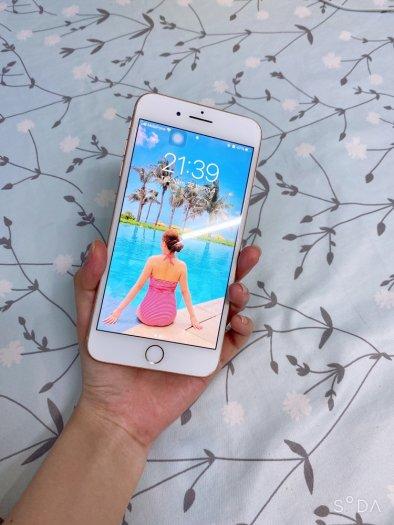 Bán điện thoại iphone 8 plus màu vàng hồng2