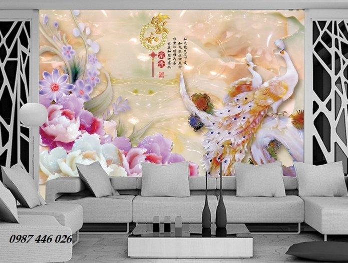 Gạch tường, tranh trang trí ốp tường 3d đẹp HP79423
