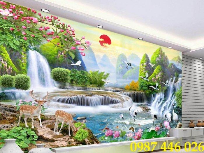 Gạch tường, tranh trang trí ốp tường 3d đẹp HP79420