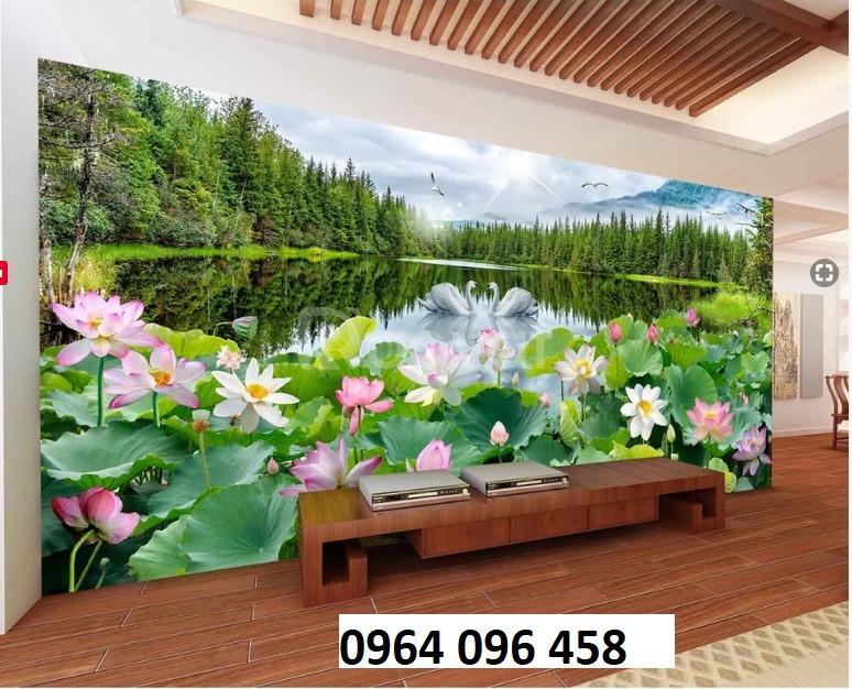Gạch 3d ốp tường hoa sen - NC446