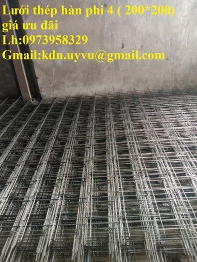 Sản xuất thép hàn đổ sàn bê tông Phi 4 , Phi 5 , Phi 6 , Phi 7 ( 100*100),(150*150),(200*200)(250*250)19