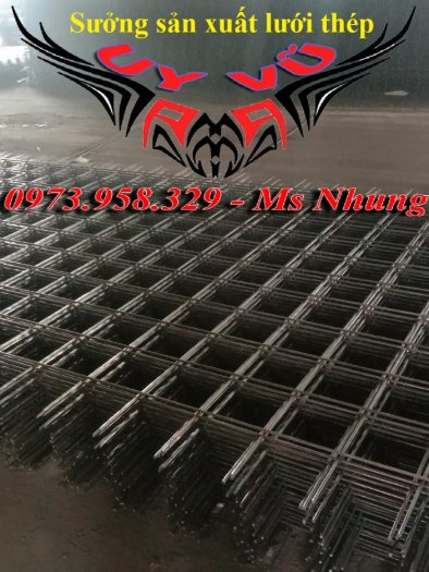 Sản xuất thép hàn đổ sàn bê tông Phi 4 , Phi 5 , Phi 6 , Phi 7 ( 100*100),(150*150),(200*200)(250*250)17