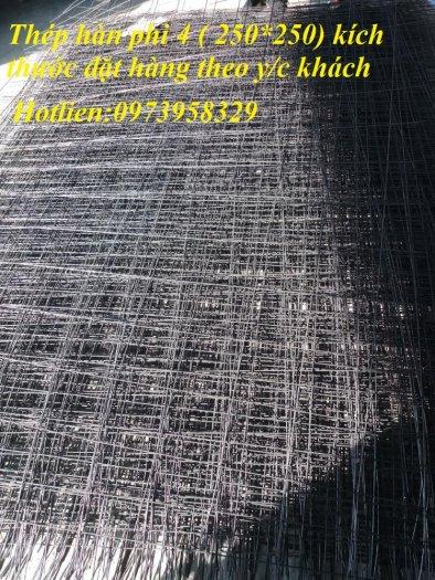 Sản xuất thép hàn đổ sàn bê tông Phi 4 , Phi 5 , Phi 6 , Phi 7 ( 100*100),(150*150),(200*200)(250*250)9