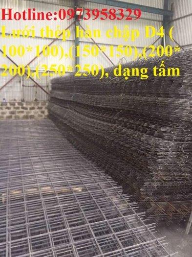 Sản xuất thép hàn đổ sàn bê tông Phi 4 , Phi 5 , Phi 6 , Phi 7 ( 100*100),(150*150),(200*200)(250*250)2