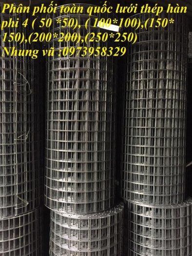 Sản xuất thép hàn đổ sàn bê tông Phi 4 , Phi 5 , Phi 6 , Phi 7 ( 100*100),(150*150),(200*200)(250*250)0