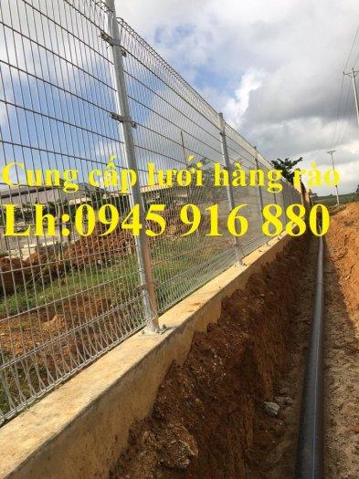 Lưới hàng rào D5a 50x150 gập 2 đầu tam giác19