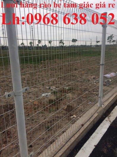 Lưới hàng rào D5a 50x150 gập 2 đầu tam giác9