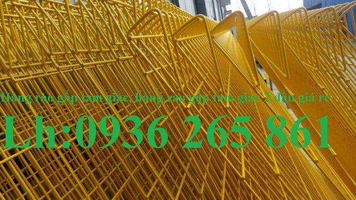 Lưới hàng rào D5a 50x150 gập 2 đầu tam giác6