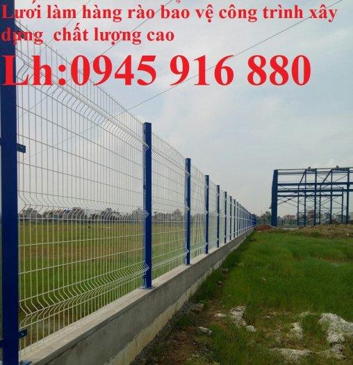 Lưới hàng rào D5a 50x150 gập 2 đầu tam giác0