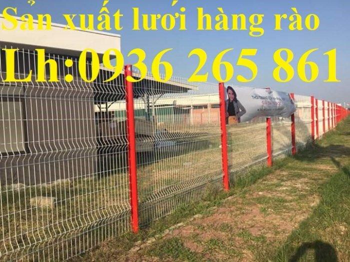 Báo giá hàng rào lưới thép hàn mới nhất năm 202142