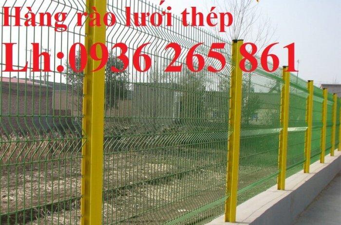 Báo giá hàng rào lưới thép hàn mới nhất năm 202138