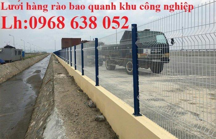 Báo giá hàng rào lưới thép hàn mới nhất năm 202134