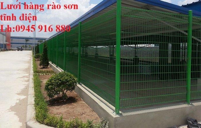 Báo giá hàng rào lưới thép hàn mới nhất năm 202127