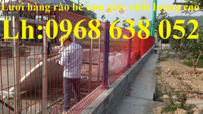 Báo giá hàng rào lưới thép hàn mới nhất năm 202123