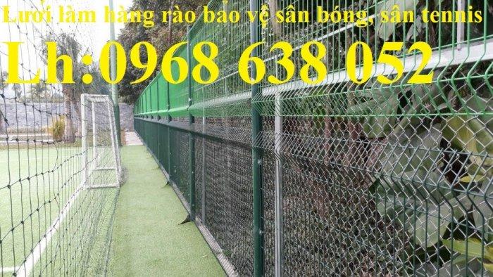 Hàng rào mạ kẽm nhúng nóng hoặc sơn tĩnh điện chất lượng cao20