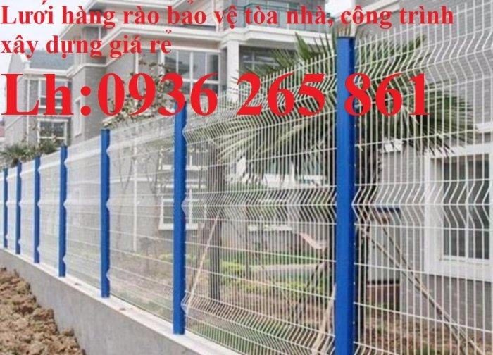 Hàng rào mạ kẽm nhúng nóng hoặc sơn tĩnh điện chất lượng cao15