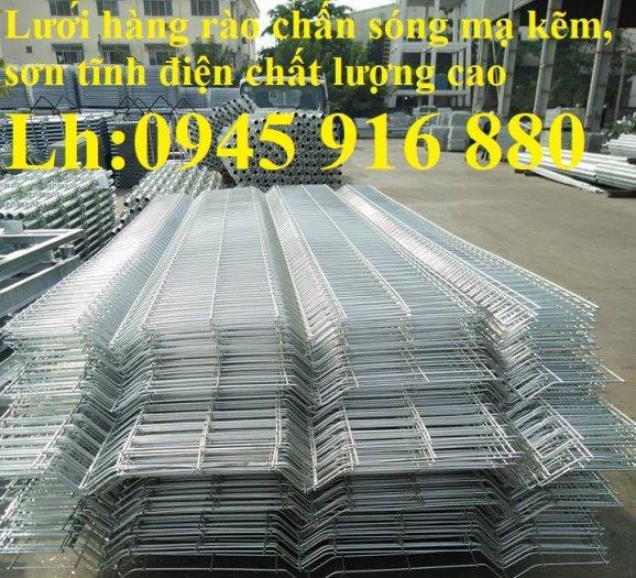 Hàng rào mạ kẽm nhúng nóng hoặc sơn tĩnh điện chất lượng cao13