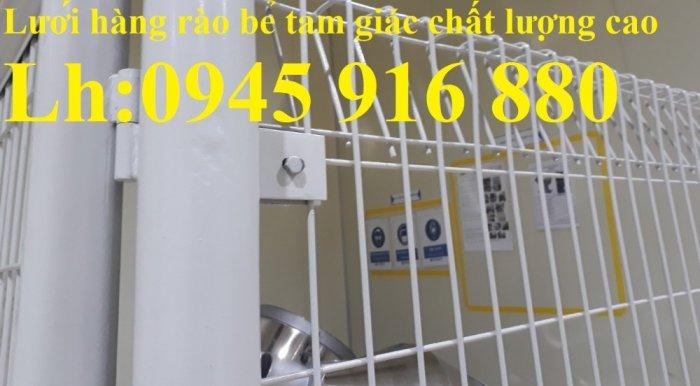 Hàng rào mạ kẽm nhúng nóng hoặc sơn tĩnh điện chất lượng cao6