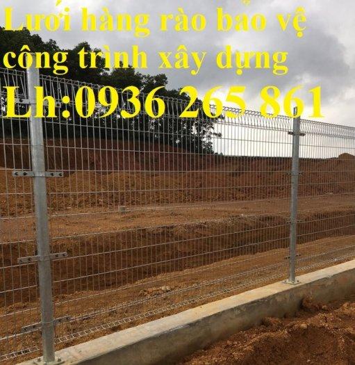 Hàng rào mạ kẽm nhúng nóng hoặc sơn tĩnh điện chất lượng cao3