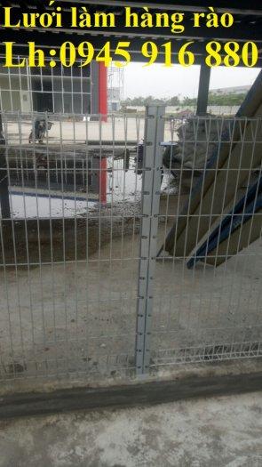 Hàng rào mạ kẽm nhúng nóng hoặc sơn tĩnh điện chất lượng cao1