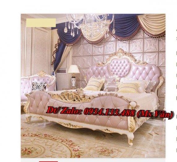 Ngất ngây những mẫu giường ngủ tân cổ điển đẹp giá rẻ5