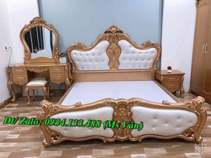 Ngất ngây những mẫu giường ngủ tân cổ điển đẹp giá rẻ3