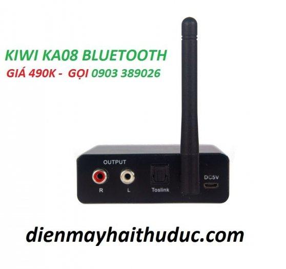 Bộ chuyển Optical Kiwi KA08 hỗ trợ Bluetooth xa đến 10m, USB phát nhạc MP30