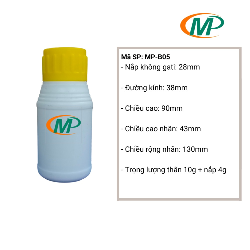 Chai nhựa HDPE16