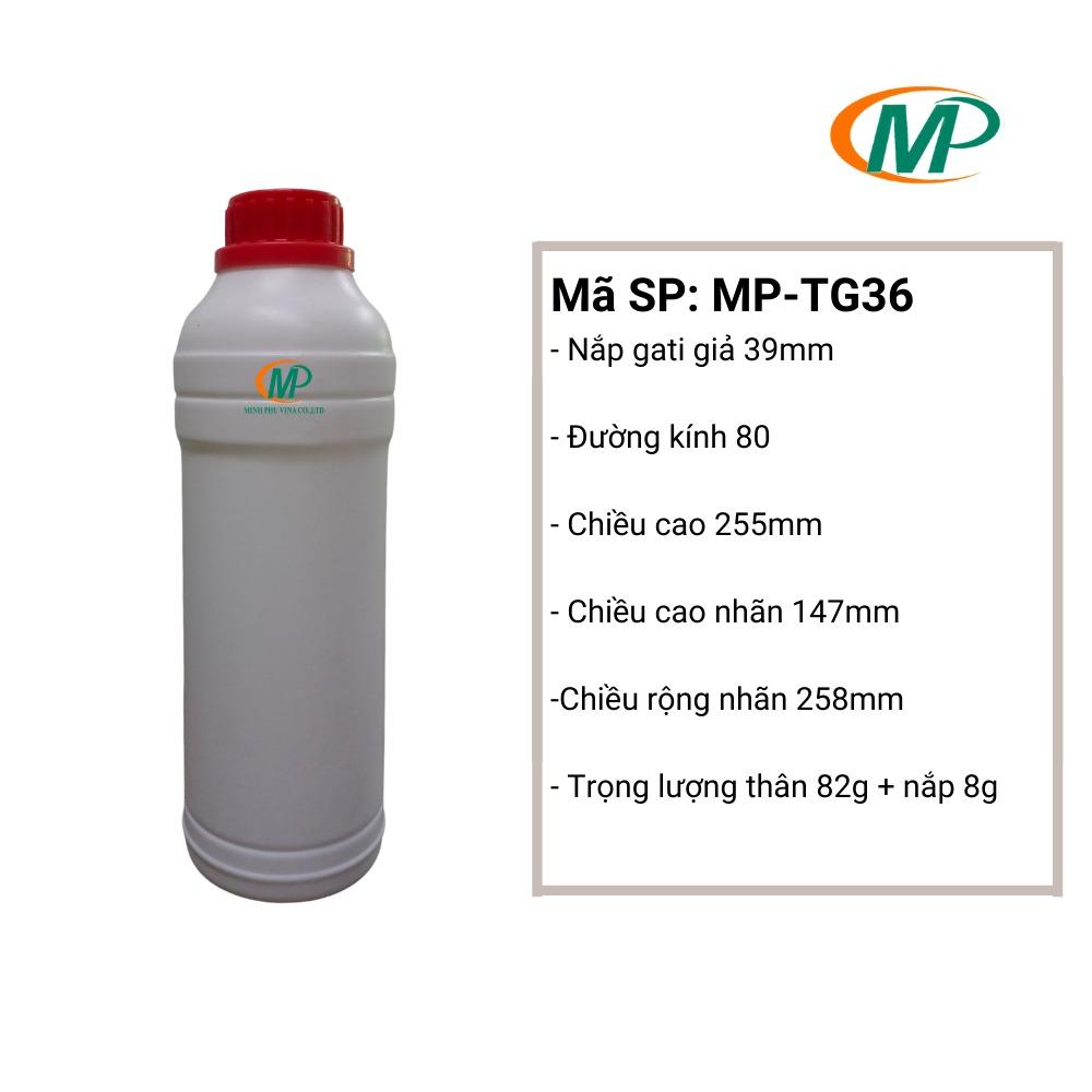 Chai nhựa HDPE0