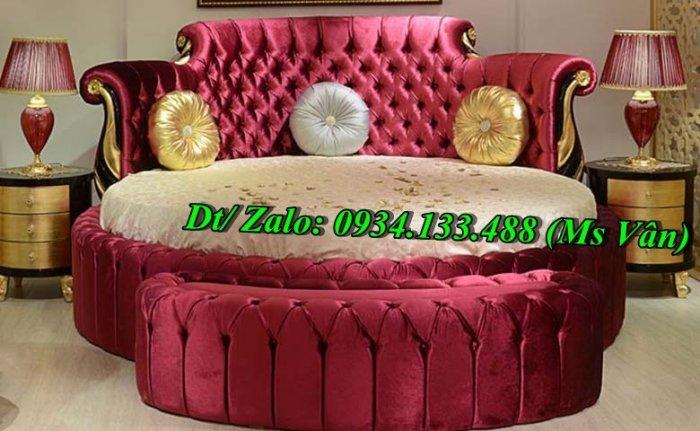 Top 10 mẫu gường tròn đẹp kiểu dáng sành điệu nhất hiện nay8