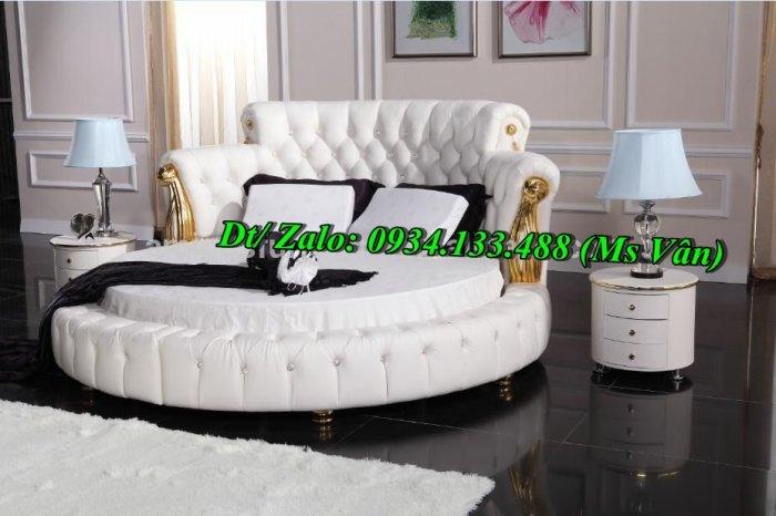 Top 10 mẫu gường tròn đẹp kiểu dáng sành điệu nhất hiện nay4