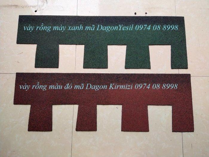 Tấm bitum giả đá lợp mái trang trí, chống thấm, siêu nhẹ, ngói lợp nhà mới1