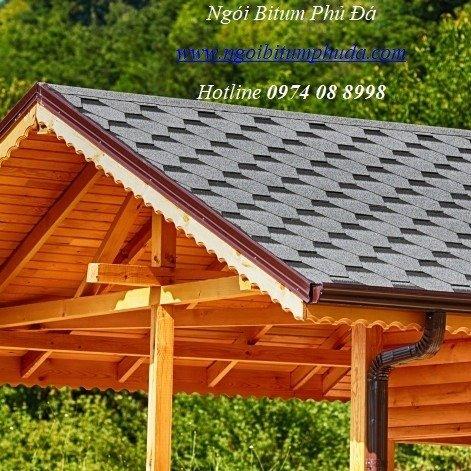 Tấm bitum giả đá lợp mái trang trí, chống thấm, siêu nhẹ, ngói lợp nhà mới0