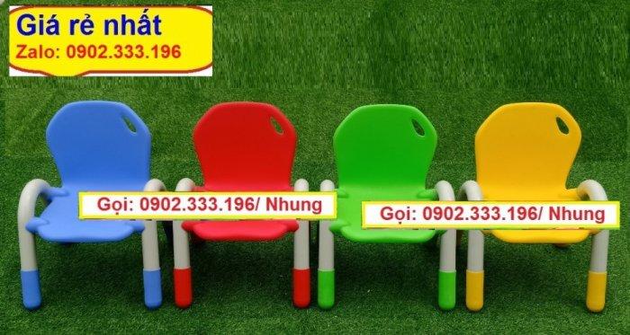 Bán ghế nhựa đúc mầm non, ghế nhựa đúc mẫu giáo giá rẻ13