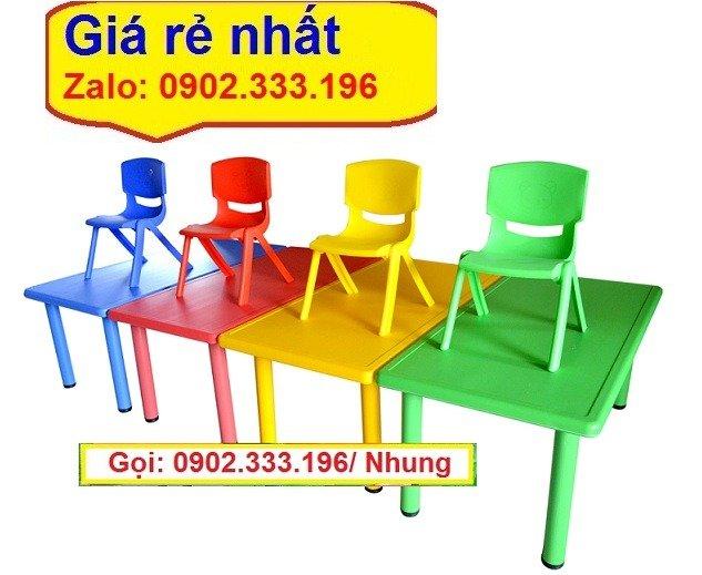 Bán ghế nhựa đúc mầm non, ghế nhựa đúc mẫu giáo giá rẻ11